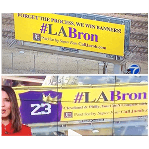 labron billboard